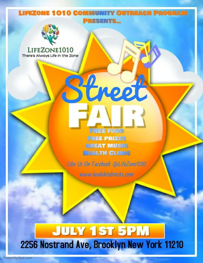 LIFEZONE1010 STREET FAIR - JULY 1ST 2017 @ New York | United States
