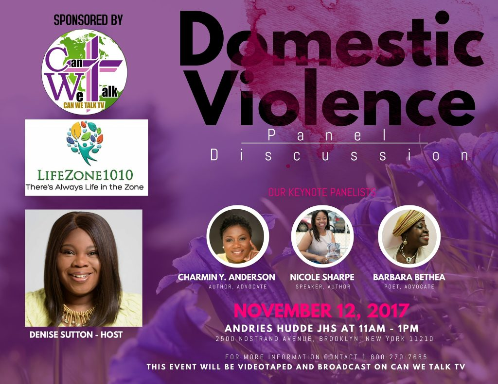 LifeZone1010 Special Seminar addressing Domestic Violence @ Andries Hudde JHS | New York | United States
