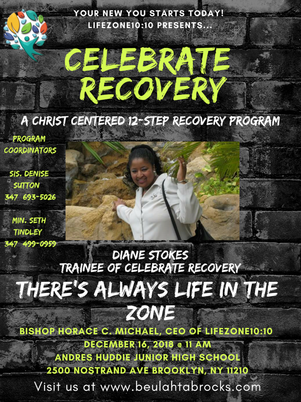 LifeZone1010 Presents Celebrate Recovery @ Andries Hudde Junior High School